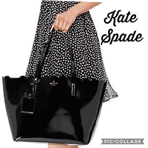 NWT Kate Spade ♠️ carrigan Patent Leather Tote